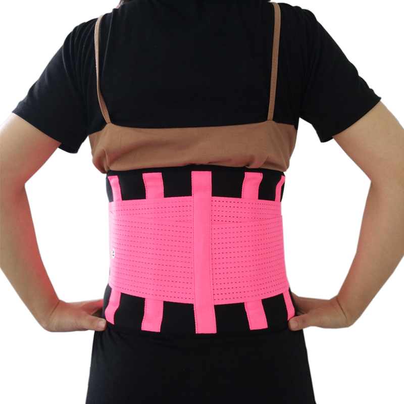Adjustable Xtreme Power Belt Unisex Lumbar Support Belt Corset Posture Corrector Brace For Sports Safety Slimming Belt Y123 unisex adjustable posture corrector corst back men brace shoulder belt lumbar support straight correction for health care