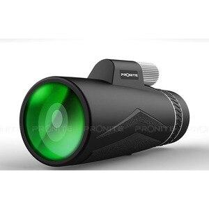 Image 5 - Zoom monocular 12x50 telescópio profissional hd visão noturna monocular caça óptica escopos suporte do telefone/tripé turizm spyglass