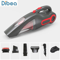 Dibea BX350 120W Handheld Vacuum Cleaner with Motorized Brush Cleaning Appliance For Carpet Car Bed Household Vacuum Cleaner