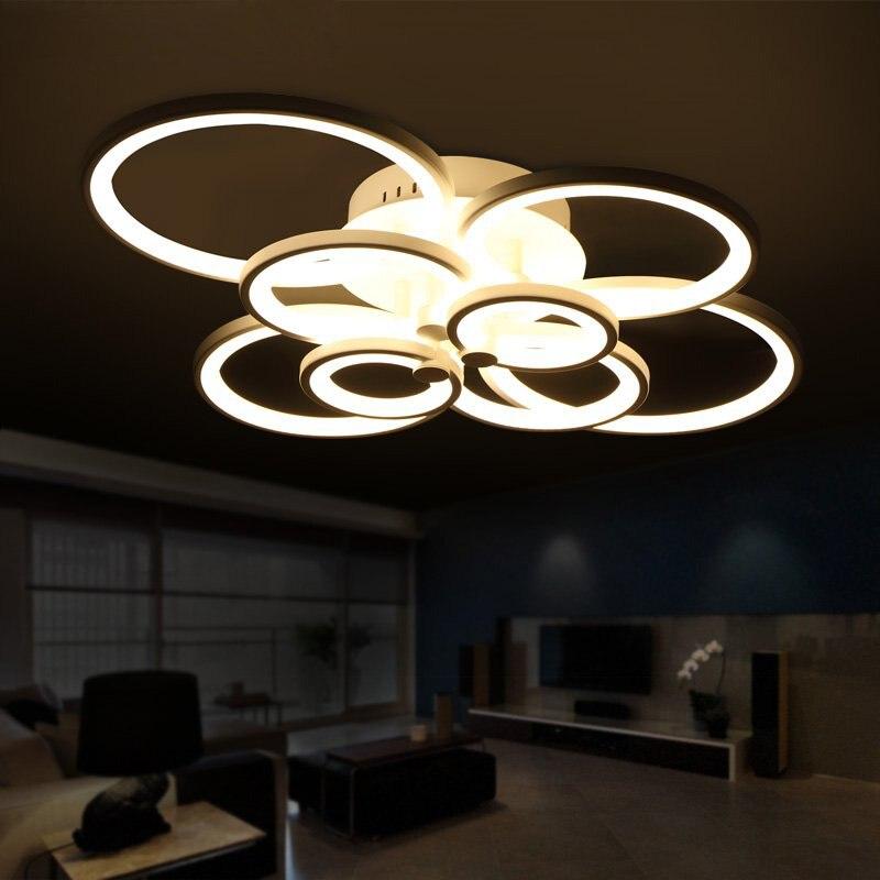 Led Wohnzimmerlampe Dimmbar Flache Deckenleuchten Design Leuchten