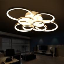 Control remoto dormitorio sala de estar moderna llevó las luces del techo luminarias deckenleuchten párr sala de oscurecimiento llevó la lámpara de techo