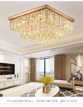 Quadrado Luz de Teto de Cristal Para Sala de Jantar Home Hotel Lâmpada de Luz Criativa Retro Ferro Lâmpada E14 lâmpada LED