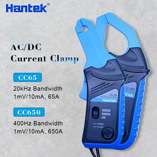 CC65 Hantek CC-65 AC/DC Current Clamp Meter Multimeter with BNC Connector from factory directly
