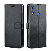 "Luxury Flip leather case For Huawei Honor 8X case back phone cover case on Honor 8X 8 X Honor8X 6.5"" case(China)"