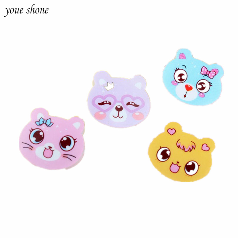 4Pcs / Lots Cat Eraser Encourage Good Learning Rubber Childs School Supplies Gift Office Stationery