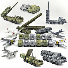 цена на 1/48 4D Assemble military tiger panther tank assault Model building Toys missile Topol Aircraft Fighter Diecast War-II Plane
