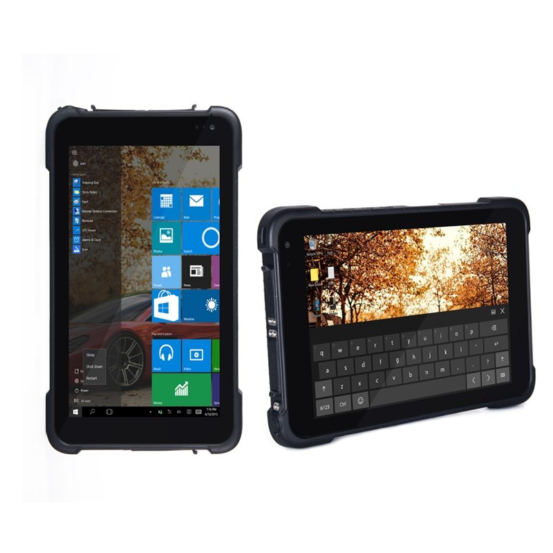 Rugged Tablet 8 Inch Windows 10 Home Rugged Tablet,industrial Tablet PC ST86
