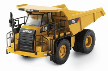 Norscot 1:50 Scale CAT 777 Off Highway Transport Truck Engineering Machinery Diecast Toy Model 55147 for Collection,Decoration