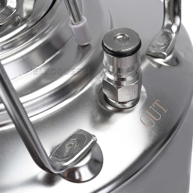 5 ガロン 19L 新ステンレス鋼ボールロックコーネリアススタイルビール OB 樽金属ハンドル
