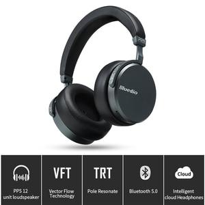 Image 2 - Bluedio V2 Bluetooth אוזניות אלחוטי אוזניות PPS12 נהגים עם מיקרופון אוזניות עבור טלפון ומוסיקה