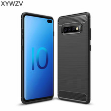 For Samsung Galaxy S10 Plus Case Luxury Armor Rubber Phone Cover Fundas