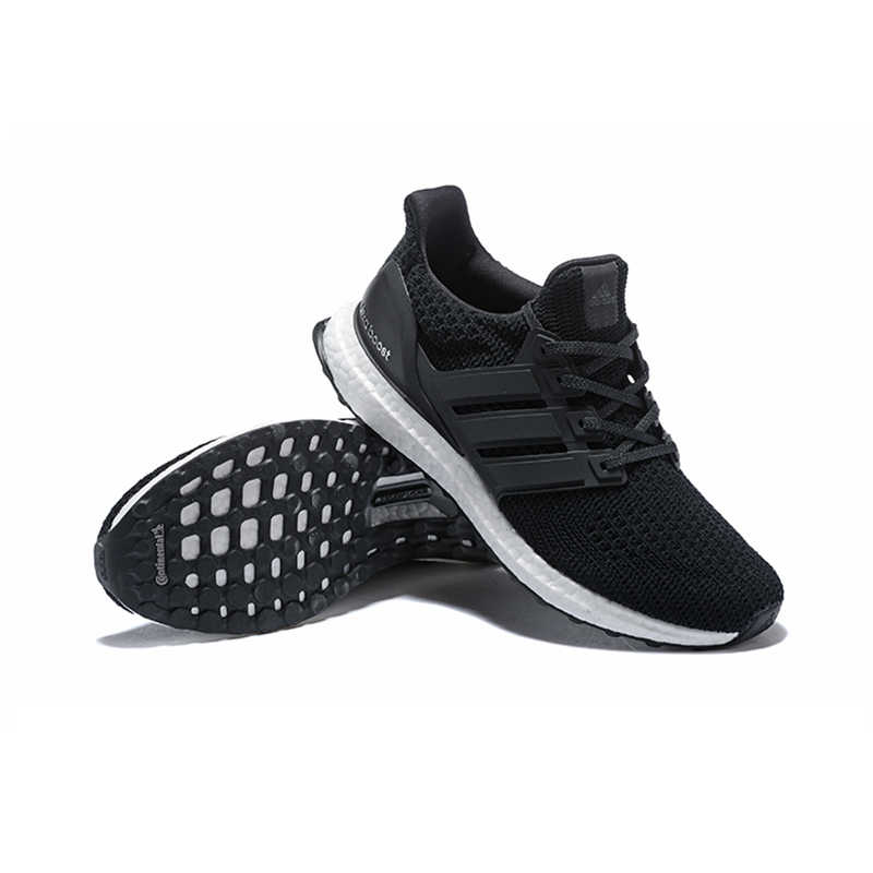 98d7be1d1b79f ... Adidas Ultra Boost 4.0 UB 4.0 Popcorn Running Shoes Sneakers Sports for  Women White Black BB6166 ...