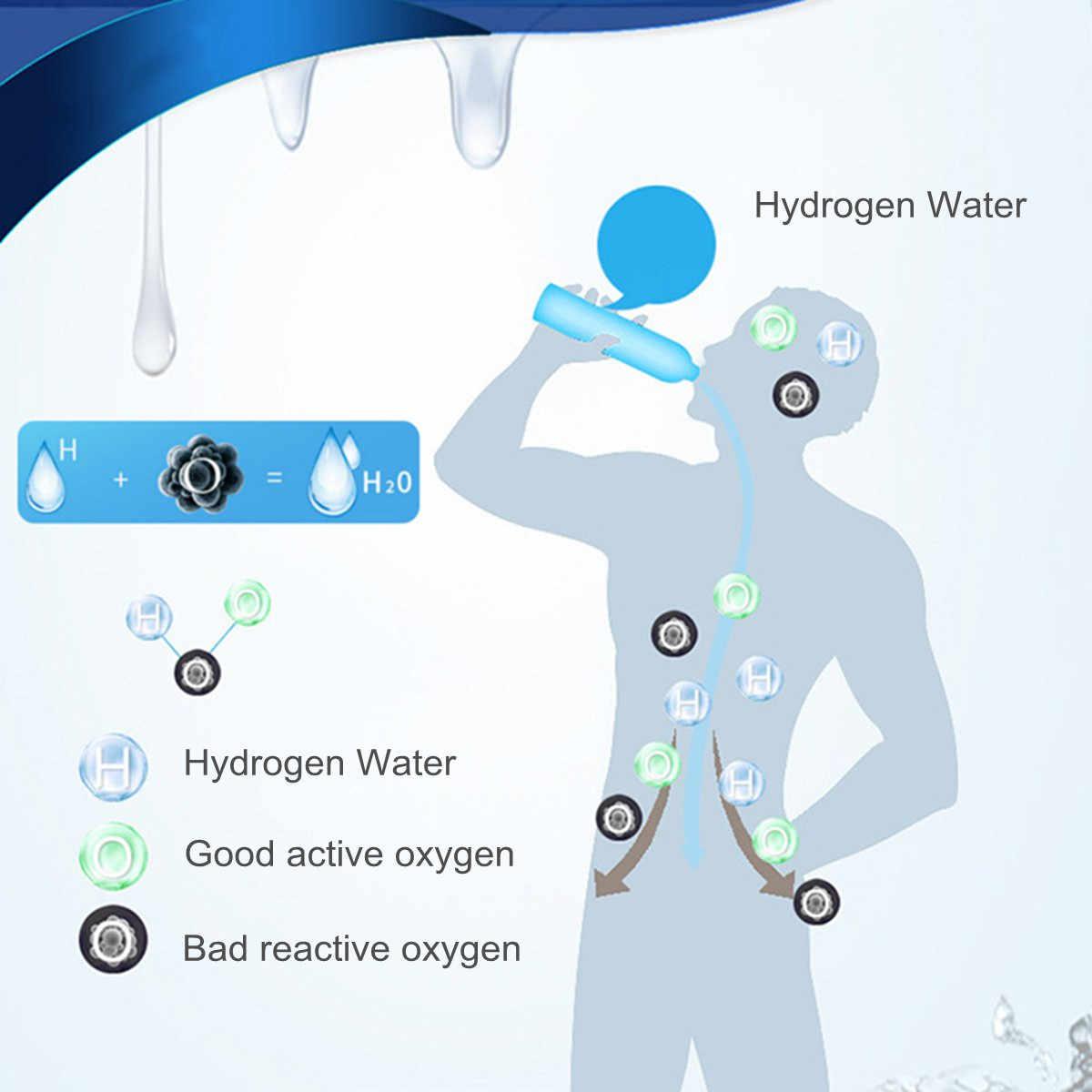 500 мл титана высокого качества водородная чашка для воды ионизатор/генератор супер антиоксиданты ОРП водородная бутылка USB зарядка
