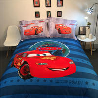 Disney Lightning McQueen Cars 3D Printed Bedding Bedspreads Bed Sets Single Twin Full Queen King Size