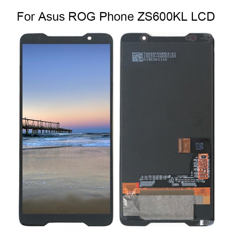 """Para 6,0 """"ASUS ROG Phone ZS600KL AMOLED LCD pantalla y Panel táctil digitalizador para Asus ZS600KL LCD montaje reemplazo"""