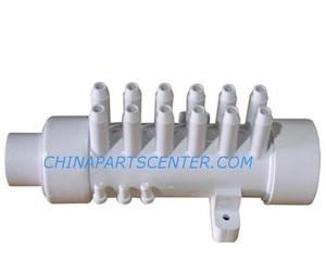 """Image 1 - 12 ngạnh khí PVC Đa Dạng 3/8 """"air nhà phân phối cho bồn tắm bồn tắm bồn và bồn tắm nước nóng spa"""