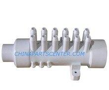 """Colector de aire de PVC de 12 púas, 3/8 """", distribuidor de aire para bañera y bañera de hidromasaje, spa"""
