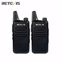 2pcs Retevis Walkie Talkie RT22 UHF 400 480MHz 2W 16 CH CTCSS DCS TOT VOX Scan