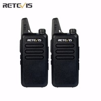 2pcs Retevis Walkie Talkie RT22 UHF 400 480MHz 2W 16 CH CTCSS DCS TOT VOX Scan