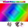 MOMEMO dégradé couleur puzzle géant difficile 1500 pièces cerveau défi adultes puzzle haute définition puzzle jouet cadeaux