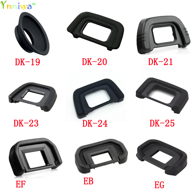 DK-23 Rubber Eye Cup Eyepiece Eyecup for Nikon D7000 D5100 D3100 D3000 DSLR Camera Free Shipping natty ice lime glasses
