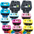 12 Pack Compatible HP 177 HP177 Printer ink Cartridge for HP Photosmart C4583 C5283 C4283 C4483 D5363