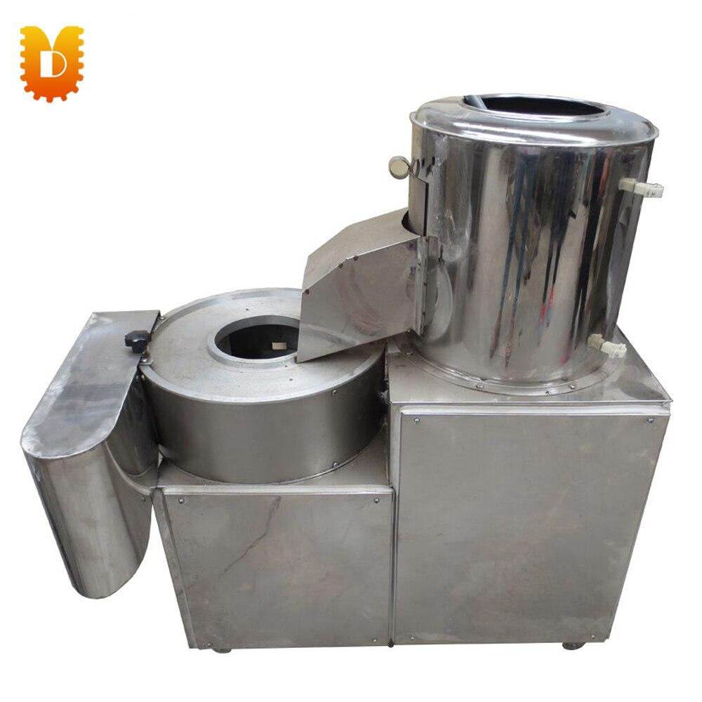 UDMQ 200 Potato Washing Peeling Slicing all-in-one machine/Carrots Sweet Potato Peeler/Slicer frehiwet assefa abera potato value chain in ethiopia