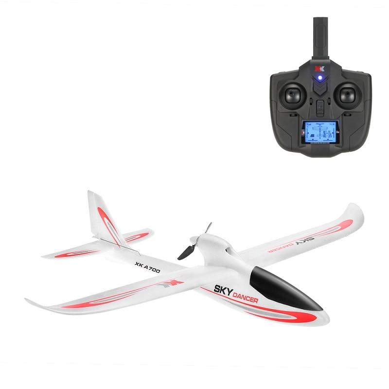 XK A700 ciel danseur 2.4G 3CH 750mm envergure aile fixe Compatible avec S-FHSS RC avion EPO RTF DroneXK A700 ciel danseur 2.4G 3CH 750mm envergure aile fixe Compatible avec S-FHSS RC avion EPO RTF Drone
