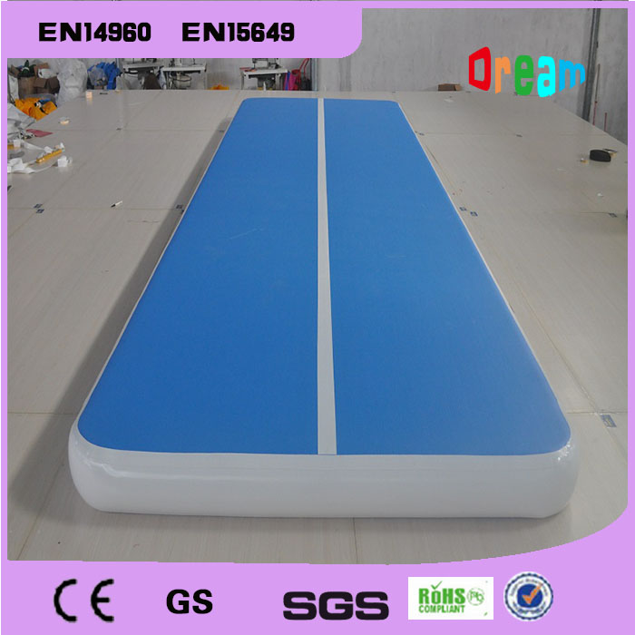 Free Shipping Good Quality 4*1m Inflatable Gymnastics Air Track Tumbling Air Track For Sell Trampoline Air Track Mat hot sale inflatable gym air track gymnastics equipment tumbling mats with free pump and free shipping 10m x 1 5m x 0 1m