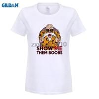 GILDAN Est Anime Printing Women T Shirts Goku Vegeta Funny T Shirts 100 180g Combed Cotton