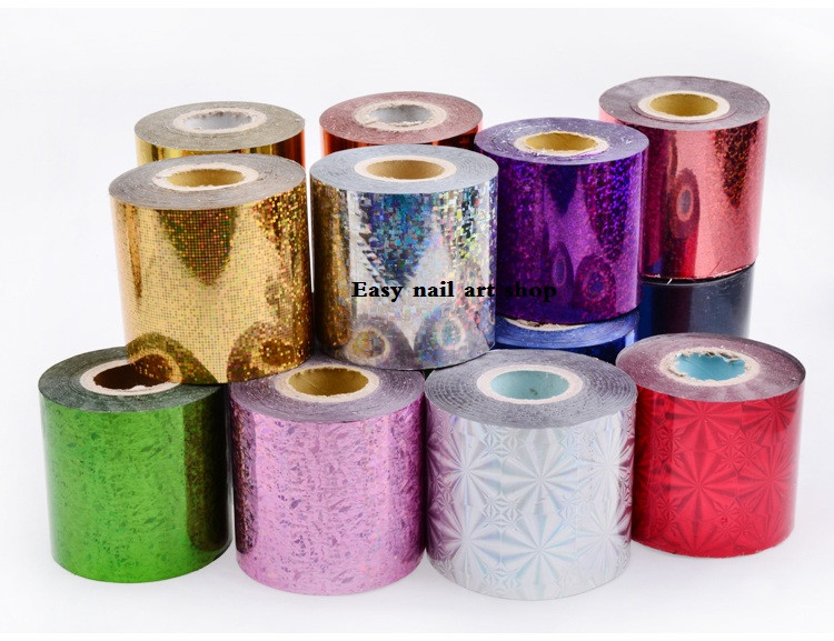 6cm*120M wholesale,32-50kinds,Nail Foil stickers Star Style Art Polish Transfer Decal DIY Beauty Craft Nail Decorations Supplies top nail 20 rolls of laser gold silver glitter striping tape line nail art tips decals beauty transfer foil stickers for nails