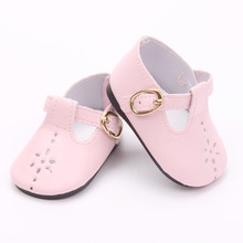 18 American lady dolls of the sneakers Leather sneakers, sandals, excessive heels kids Christmas reward free transport ytx-2