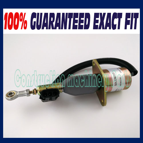 все цены на Shut Down Solenoid 3930234, 6743-81-9140, SA-4335-24 24V + Fast free shipping онлайн