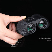 10X25 HD All-optical Green Film Waterproof Binoculars Telescope Bak4 Prism Professional Hunting Optical Outdoor Sports Eyepiece