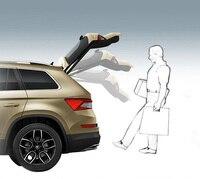 Для SKODA KODIAQ (нужно с электрическим Хвост дверь функция) задний багажник дверь автоматического индуктора использовать ноги открыть электрич