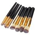 40 set/lote New Professional 8 pcs pincéis de maquiagem ferramentas Kabuki maquiagem Contour escova de mistura