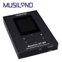 MUSILAND Monitor 07MP sound card Player 32bit/384KHz PDA Mobile Android iOS Linux Mac WINDOWS PCM DSD USB DAC earphone amplifier(China)