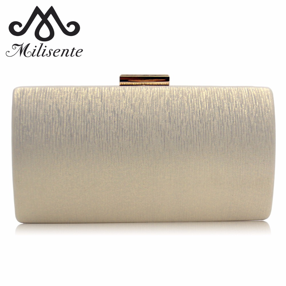 Milisente Evening Bags Women Clutch Bag Ladies Wedding Clutches Female Party Bag milisente beaded embroidery tassel bags women party bag small evening clutches lady wedding clutch chain