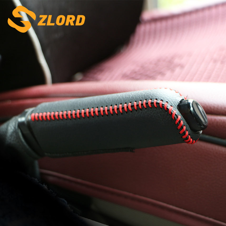 OshiCar® Genuine Leather Hand Brake Cover Protective Sleeve For Ford Mondeo Mk4