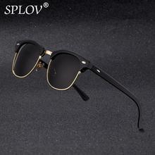 2018 nueva moda Semi montura gafas De Sol polarizadas De las mujeres De los  hombres a24cbe6dccac