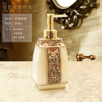 Hot-selling hand sanitizer in the bottle resin emulsion bottle fashion bathroom shower gel soap dispenser liquid lotion box