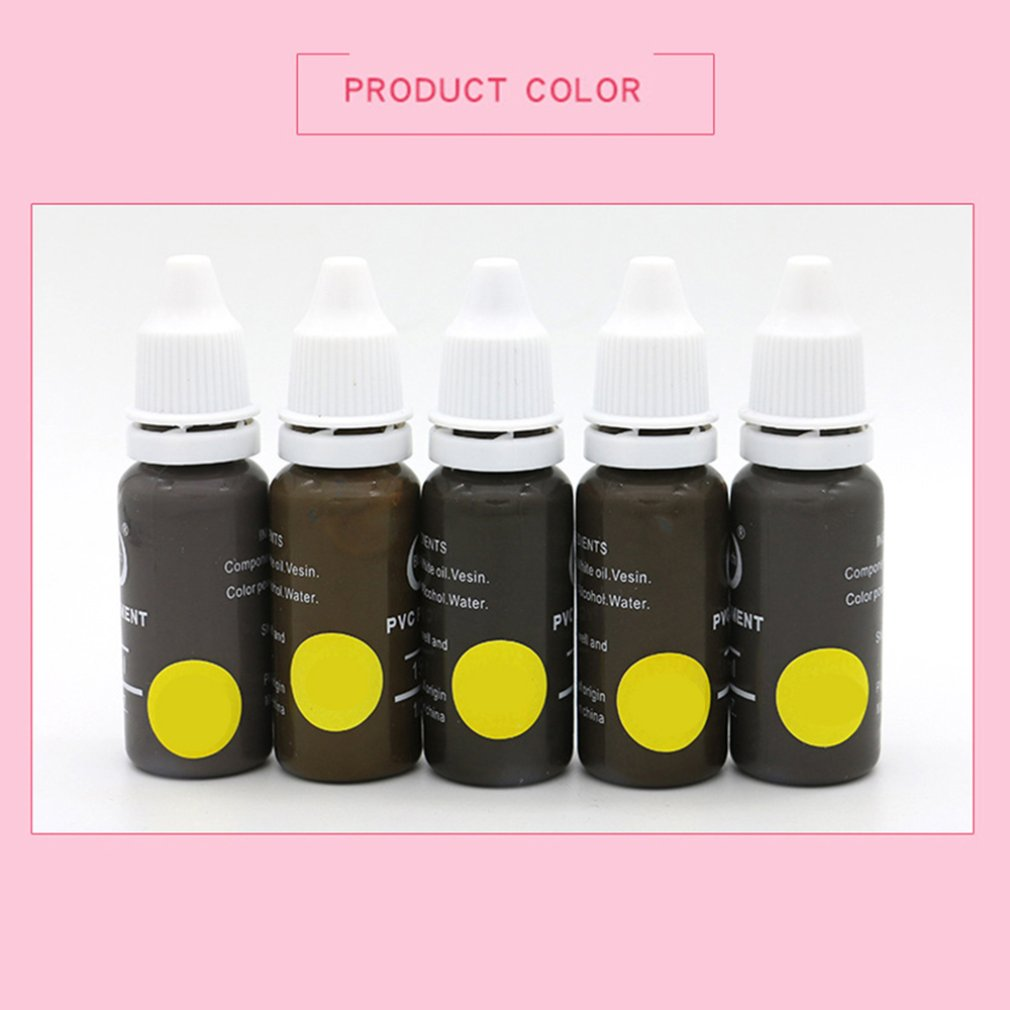 Natural Professional Tattoo Pigment Inks Safe Half Permanent Tattoo Paints Supplies For Body Beauty Tattoo Art