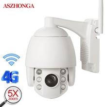 imx307 2MP 3G 4G SIM PTZ IP Camera 1080P HD IR Night Vision Speed Dome Wifi Security Camera Outdoor Waterproof CCTV Surveillance цена 2017