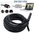 5 М 5 ММ USB Эндоскоп Водонепроницаемый 6LED Бороскоп Tube Видео Камеры Область