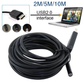 5M 5MM USB Endoscope Waterproof 6LED Borescope Tube Video Camera Scope