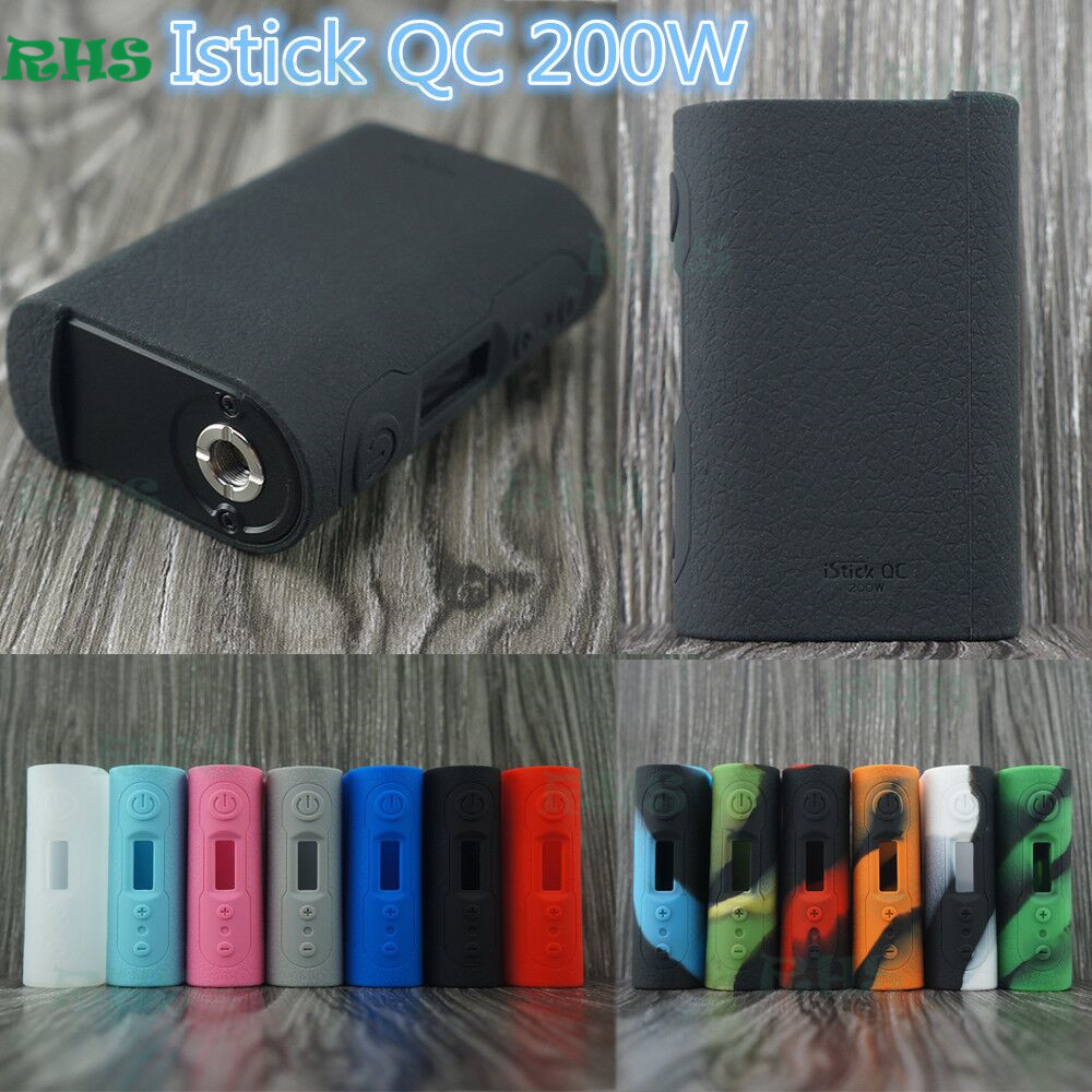 2017 Original Authentic Silicone Case of Eleaf iStick QC 200W with 3 5ml MELO 300 Kit