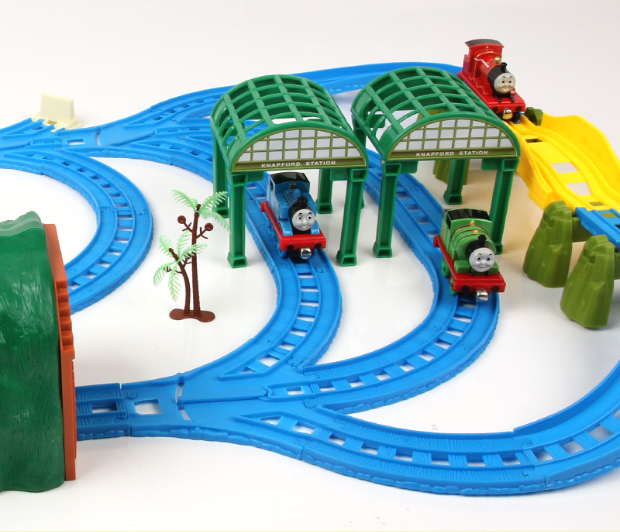 Different Kinds Of Toys Train Track Railway Situational Accessories Compatible With Thomass Trains Biro Toys For Children .