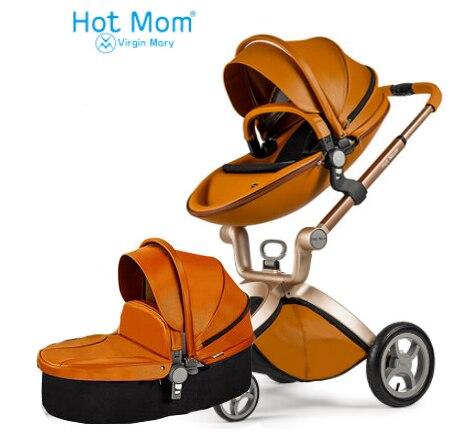 €2333.25 50% de DESCUENTO|Cochecito de bebé Hot Mom 2 en 1 comentarios, cochecito analógico mima xari. Asiento de coche para cochecito de bebé con envío gratis|mom|review|mom baby - AliExpress