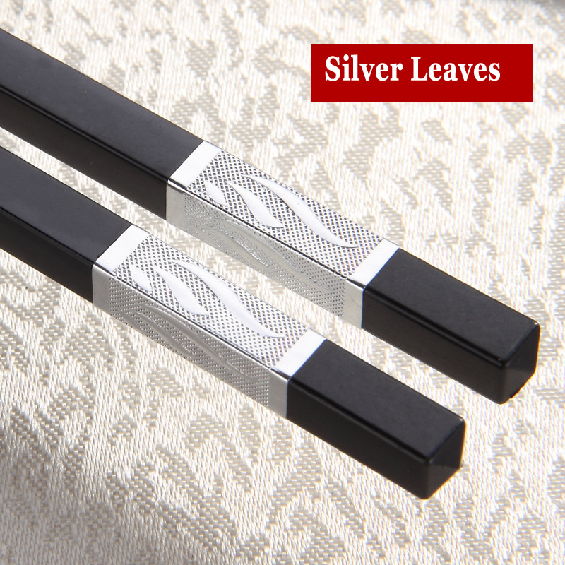 Chopsticks Orderly 5pair Hot High Quality Portable Sushi Chop Sticks Chinese Chopstick Learner Gifts Set Exquisite Non-slip Kitchen Accessorie Jade White