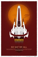 Battlestar Galactica 10th Anniversary Art Print Wall Sticker 50X75 Home Decor